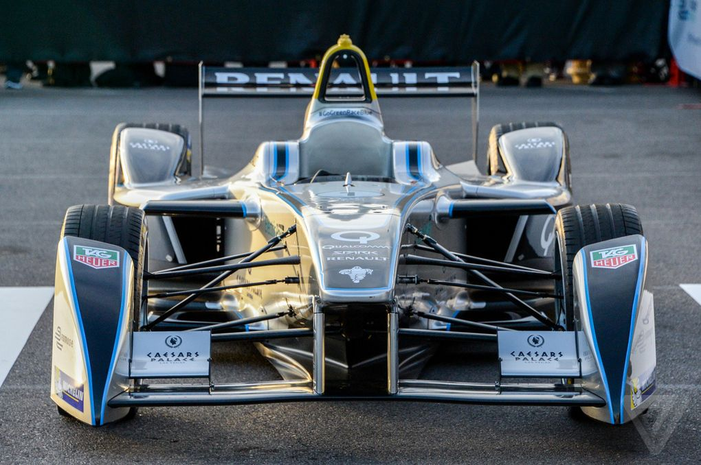 The Electric Grand Prix World S First Formula E Car Packs A Punch Verge