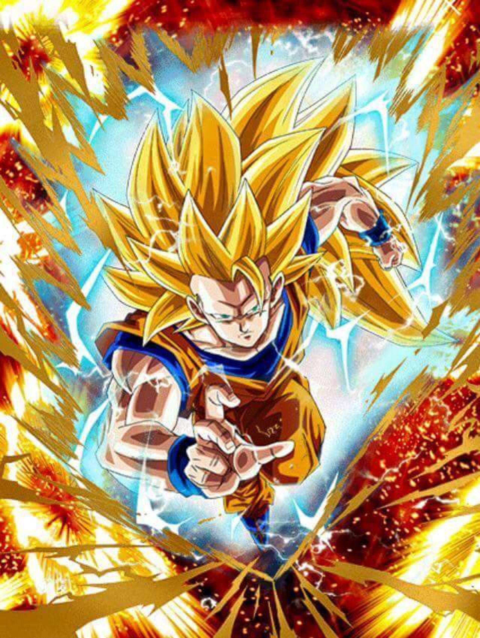 Received Goku ssj3 by KaiserDeadpool on @DeviantArt | Goku ...