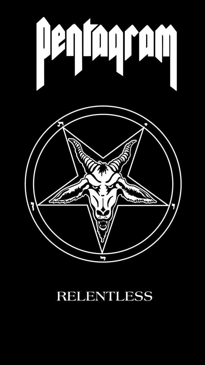 Metal Phone Wallpapers Android 1080x1920 Pentagram Relentless Pentagram Band