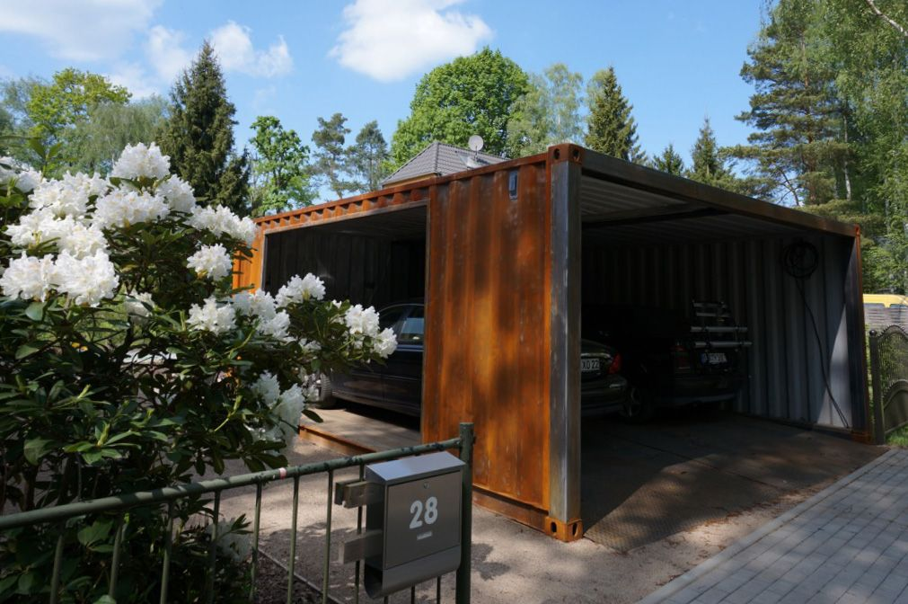 CarportContainer Lagercontainer, Carports