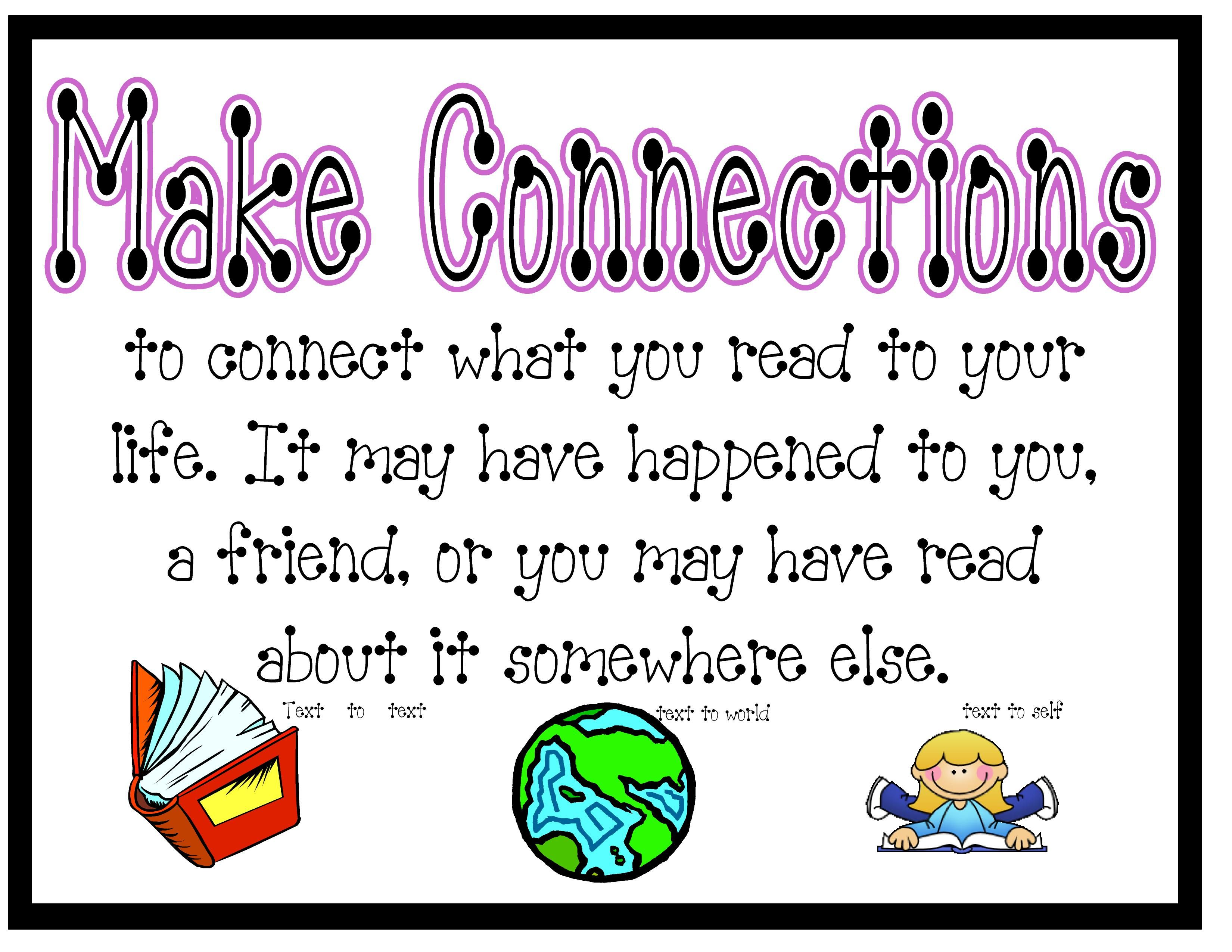 Free Worksheet Making Connections Worksheet 17 best images about making connections on pinterest texts graphic organizers and schema anchor chart