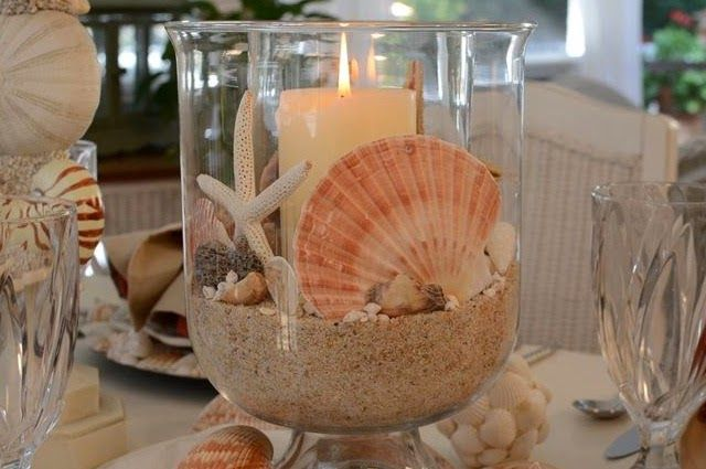 Shells and candles