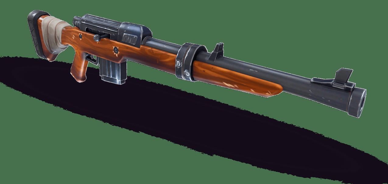 fortnite de epic games - rifle de pressao fortnite