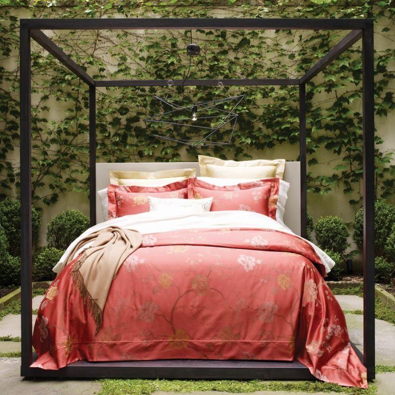 Persimmon Color Sferra Avery 3320 King Duvet Cover 1 215 00 Ebay