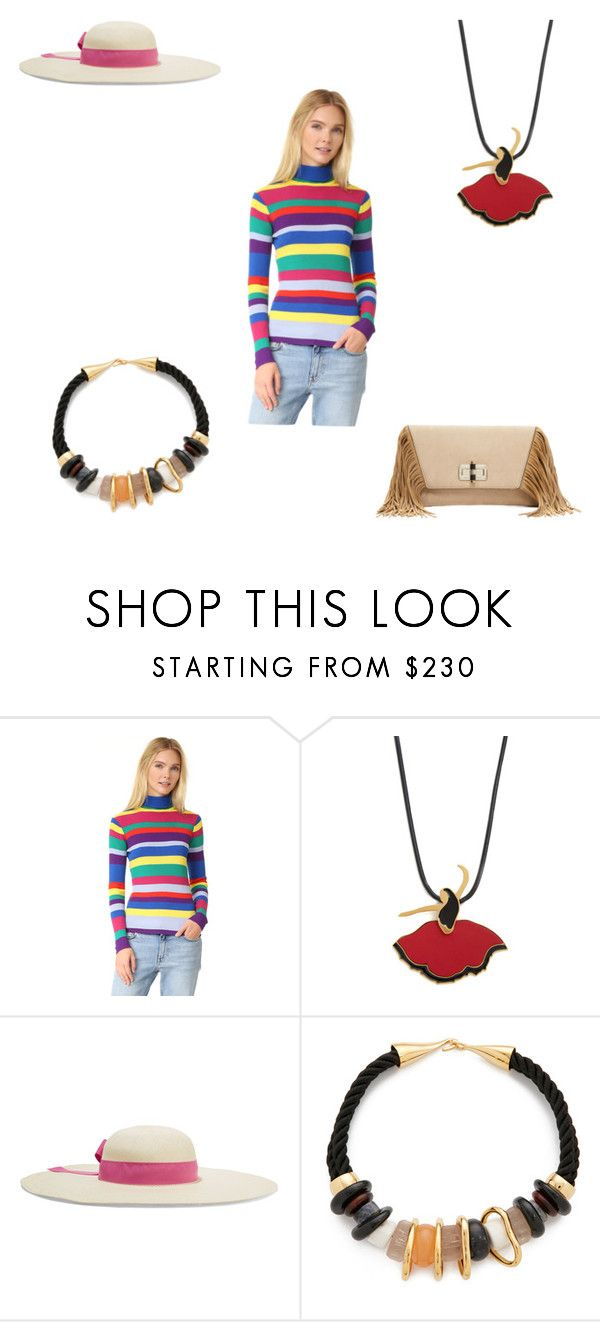 """Set The Style"" by ramakumari ❤ liked on Polyvore featuring Mira Mikati, Marni, Sensi Studio, Lizzie Fortunato and Diane Von Furstenberg"