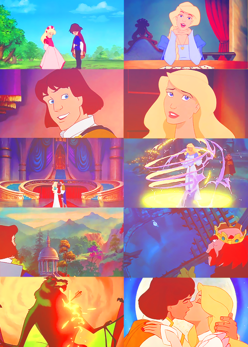 This is the mood of myth and romance! The Swan Princess ...