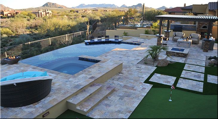 Arizona Swimming Pools AZ Pools Swimming Pool Design