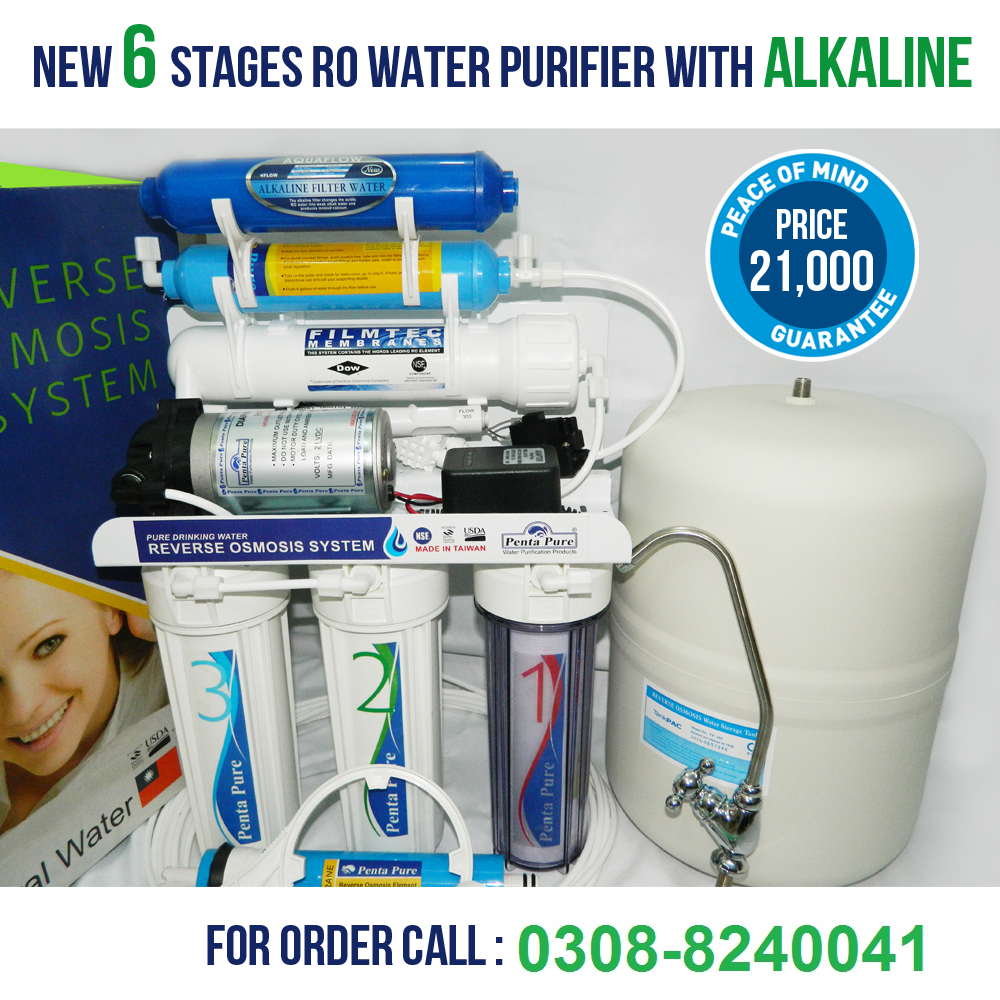 6 Stage Ro Plant Penta Pure Taiwan Ro Plant Pure Products Ro Water Purifier