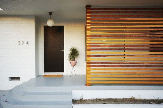Most of the time, the front door is our first impression of a home