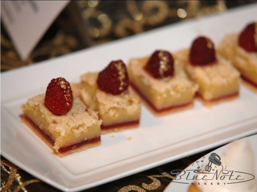 Lemon Raspberry bars | Blue Note Bakery - Austin, Texas