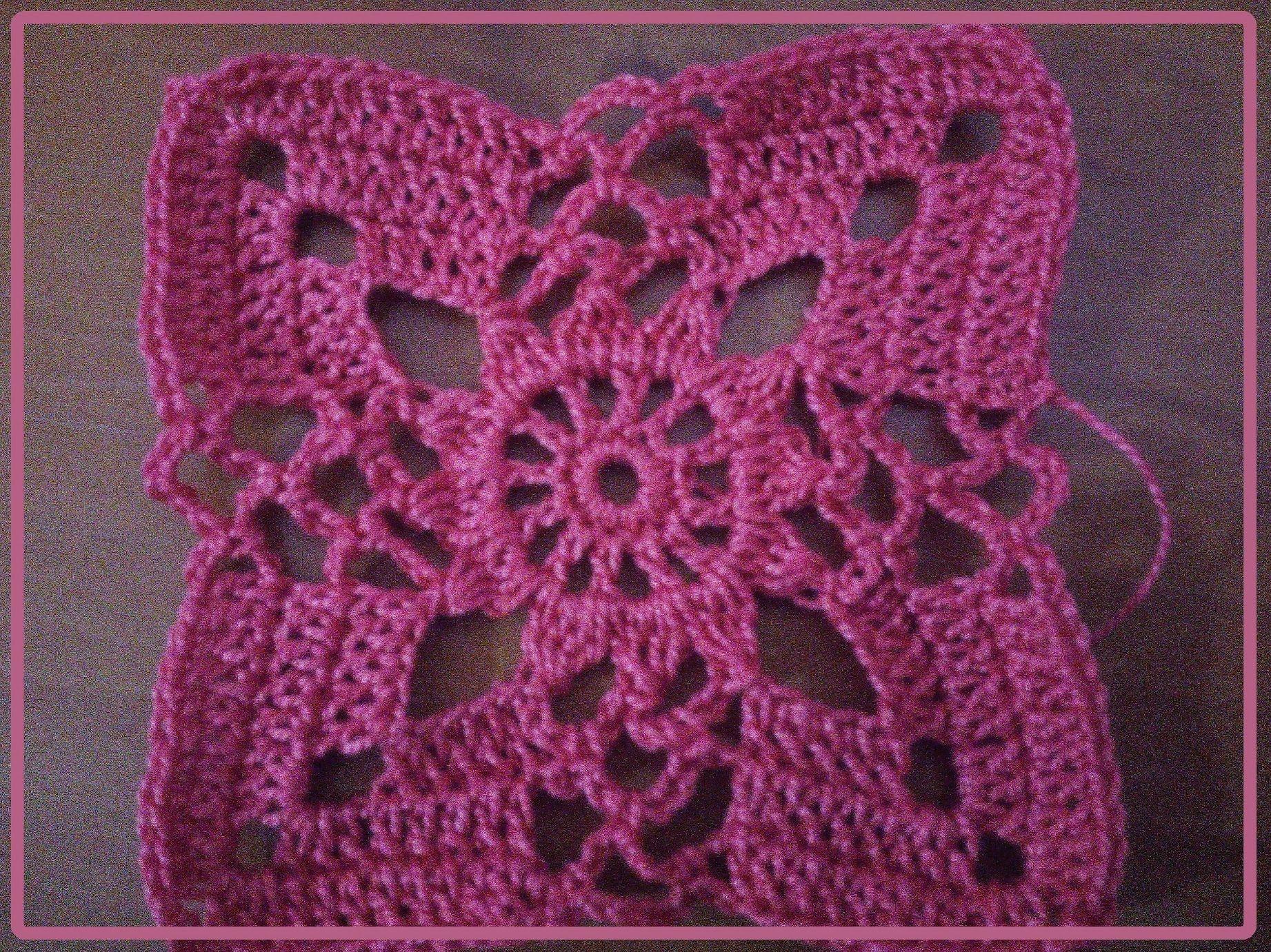 Aplicacion crochet Jerseis primavera verano 1 | CROCHET | Pinterest