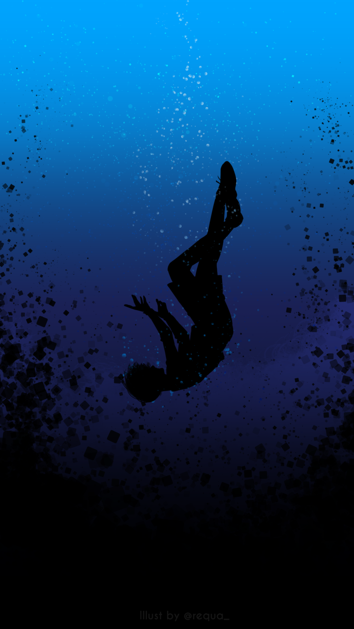 drowned(requa_)  Illustrations - MediBang  Anime scenery