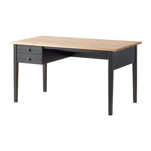 Scrivania Vika Ikea.Arkelstorp Scrivania Nero Home Ikea Desk Home Office
