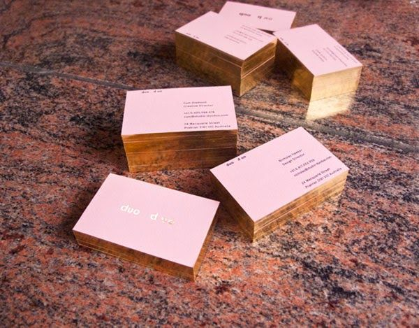 16 Gold Foil Business Cards That Stand Out From The Pack Jayce O Yesta Foil Business Cards Gold Foil Business Cards Business Card Design