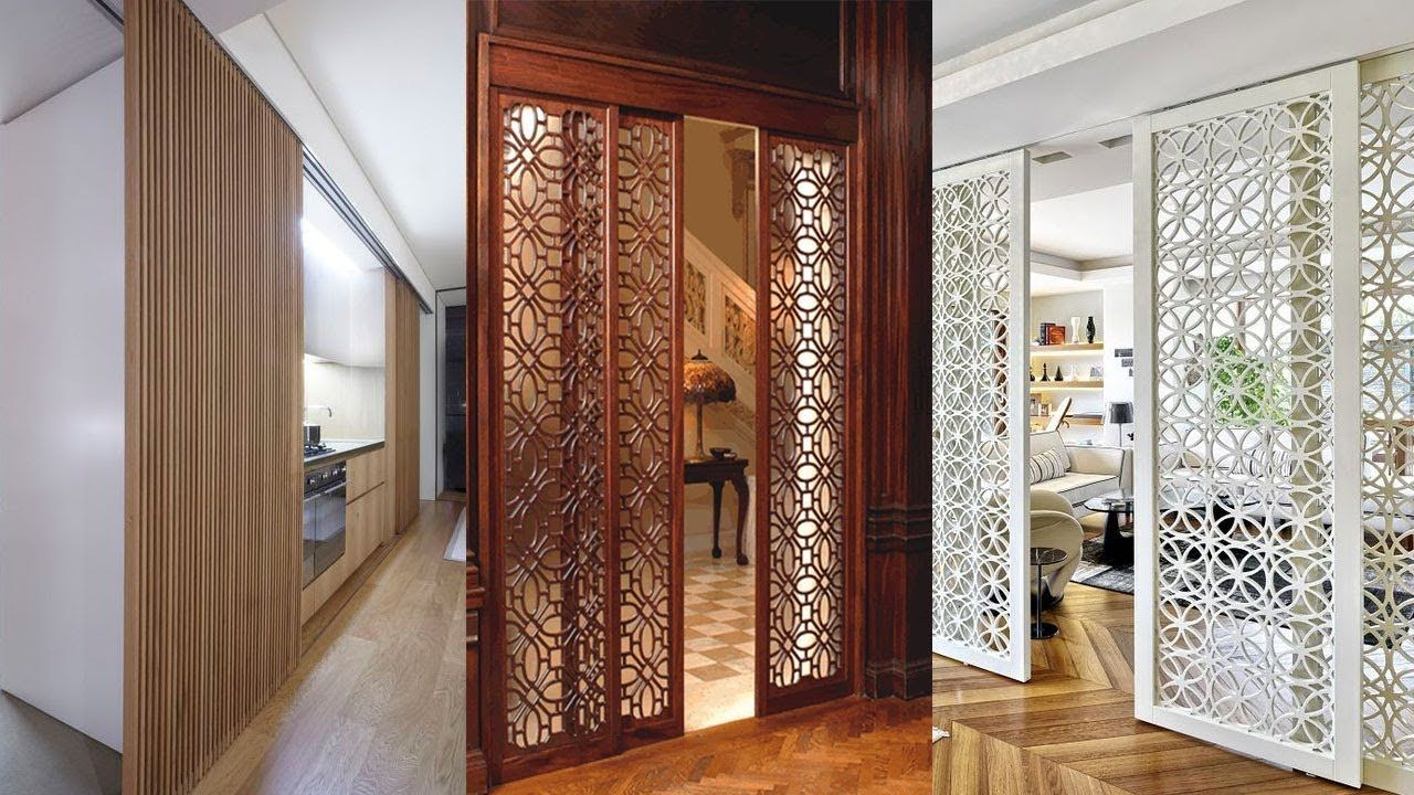 Sliding Room Dividers 50 Creative Door Hanging Panel Ideas
