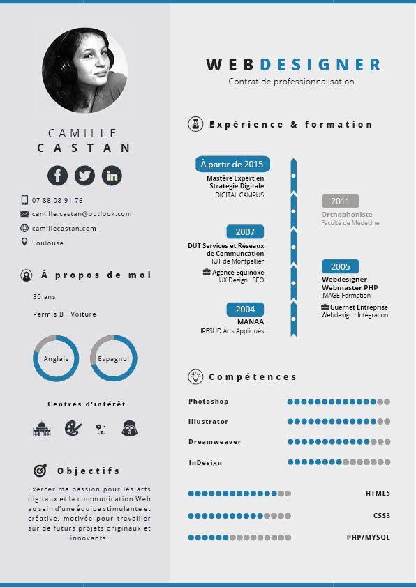 Smart Resume My Resume  Smart Colors On Behance  Cv Web Designer  Pinterest