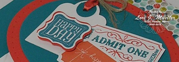 stampin up ticket - Google Search