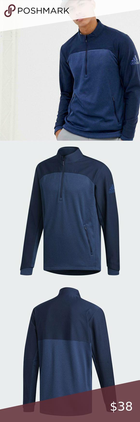 24++ Adidas golf go to 1 4 zip viral