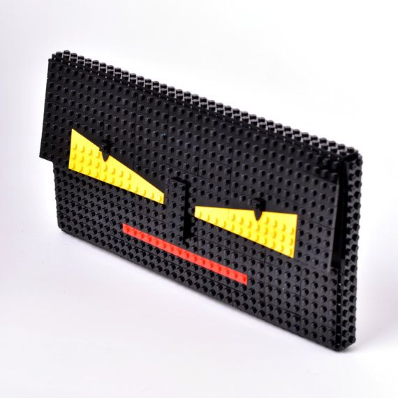 fe53459c77 Monster face oversize clutch made entirely with LEGO by agabag | DIY ...