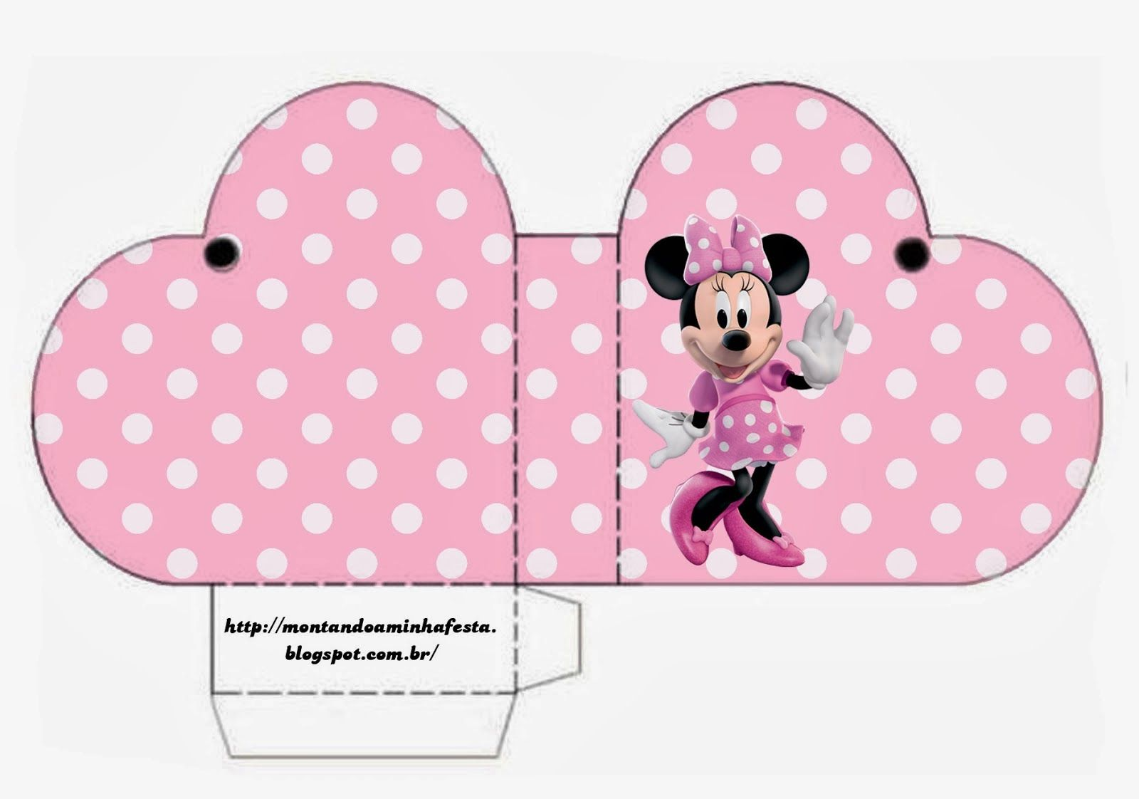 Minnie Rosa: Cajas para Imprimir Gratis. | minnie mouse | Pinterest ...
