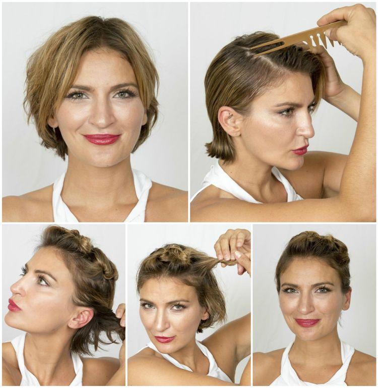 Silvester Frisuren Für Kurze Haare Zum Nachmachen Inspiriert Von