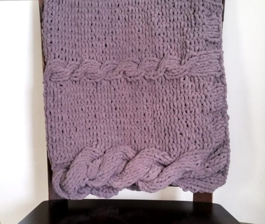 Farmhouse Kitchen Knitted Dishcloth: Rustic Farmhouse Baby Blanket Pattern