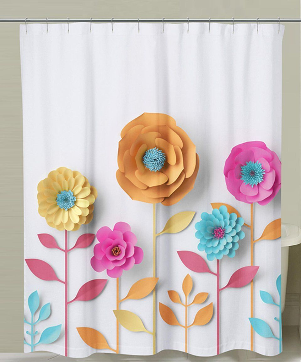 Take A Look At This 3 D Flowers Shower Curtain Today Floral