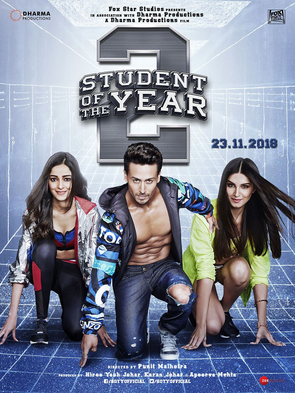 Student Of The Year 2 Movie 2019 In 2020 Full Movies Download Hindi Movies Online Full Movies Online Free
