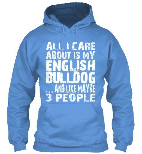 Limited Edition - My English Bulldog! $39.95