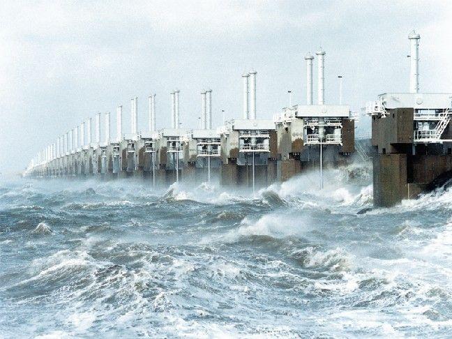 Fransvdst Nederland Stormvloedkering Reisideeen