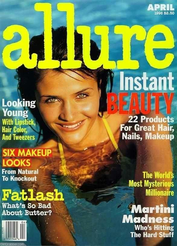 Helena Christensen  -  Allure US April 1996
