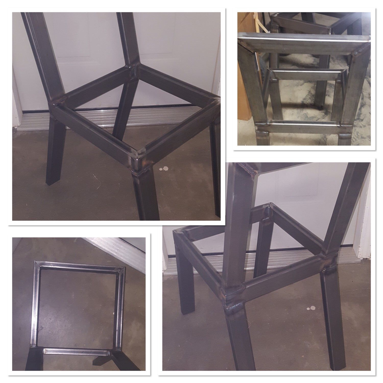 These steel chair frames are our newest product! These chair frames ...