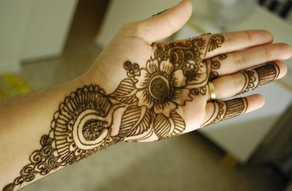 Mehndi Designs Hands Photo Gallery : Mehndi design for hands fornt and back meganthi