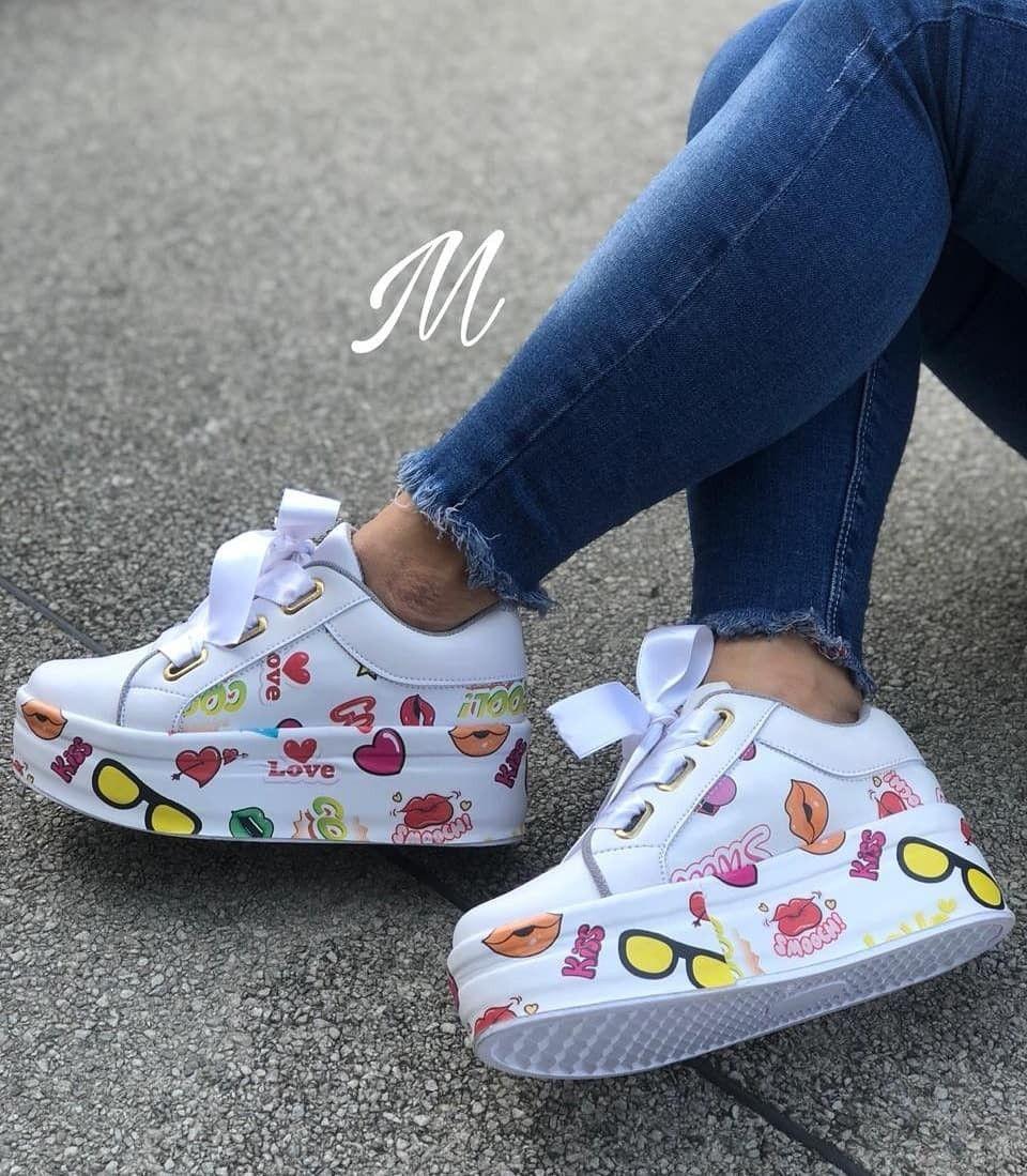 Zapatos tenis para mujer