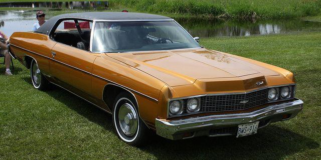 1973 Chevrolet Impala 2 Door Hardtop Chevrolet Impala Chevy Impala Chevrolet
