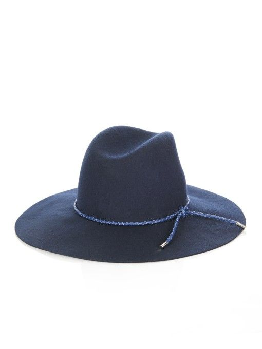 b17d899459f Emilio Pucci Woven-leather and felt hat