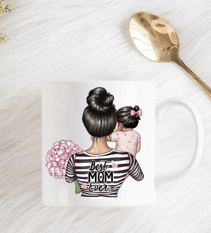 Mother's Day mug,gift for mom,custom mom mug,mother and daughter mug,grandmother gift idea,new mom gift,custom mug,personalized mom mug