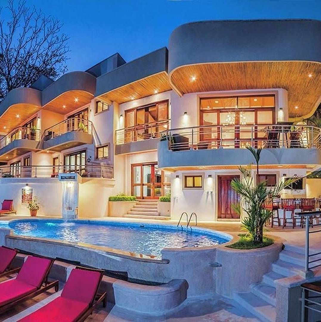 ❤ ℒℴvℯly | A House is a Home | Pinterest | Häuser mit Pool, Luxus ...