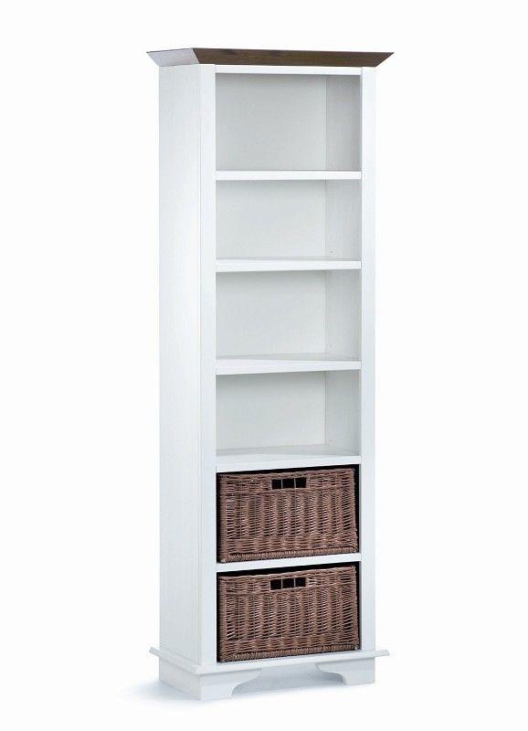 JESSICA Standregal hoch Kiefer weiß lackiert Jetzt bestellen unter - wohnzimmer kiefer weis