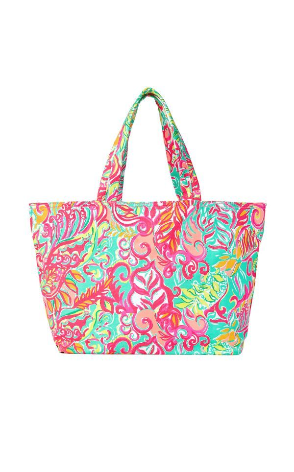 Beach Tote Bag Little Tiger Lilly Pulitzer Multi Accessories