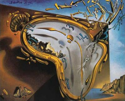 Salvador Dali My Absolute Favorite Artist The Melting Clock To Me Symbolizes The Illusion That Time Define Dali Art Salvador Dali Paintings Dali Paintings