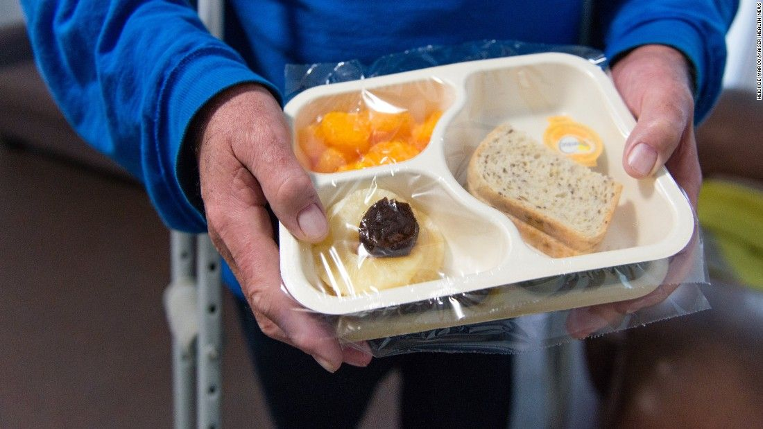 Meals on wheels made up of a network of nonprofits around