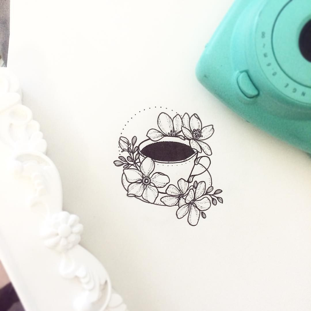 "Teacup Tattoo Coffee Tattoos: NATHALYBONILLA *tattoo* On Instagram: ""Details That Make"