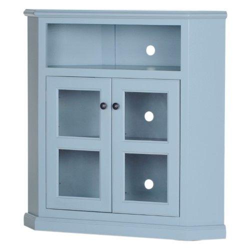 Eagle Furniture Coastal 41 In Wide Corner Tv Console Tempting Turquoise