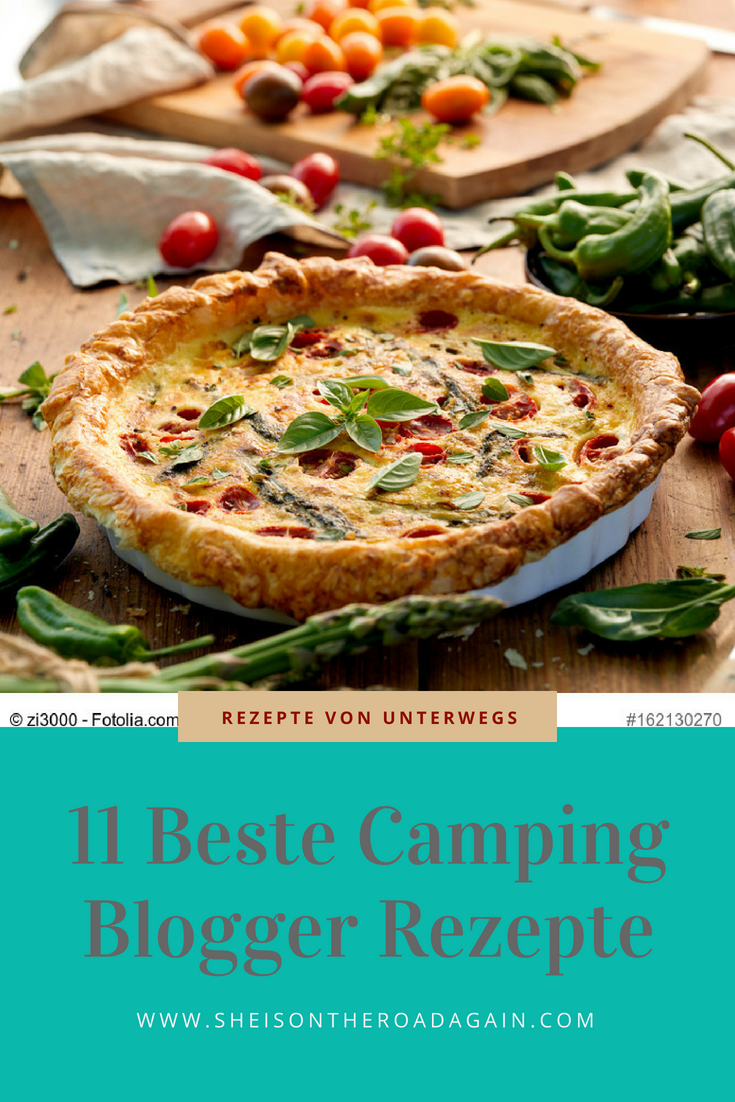 Photo of 11 bloggers reveal their best camping recipes