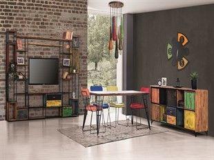 Rengarenk bir eviniz olsun ister miydiniz? #yemekodasi