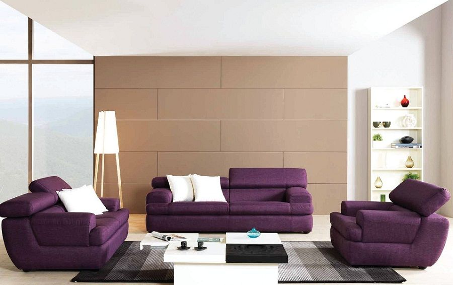 Purple Lounge Set Funky Coffee Table From Fathallah Furniture
