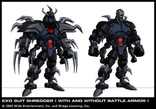 Exo Suit Shredder Courtesy 4kids Tmnt Blog Teenage Mutant