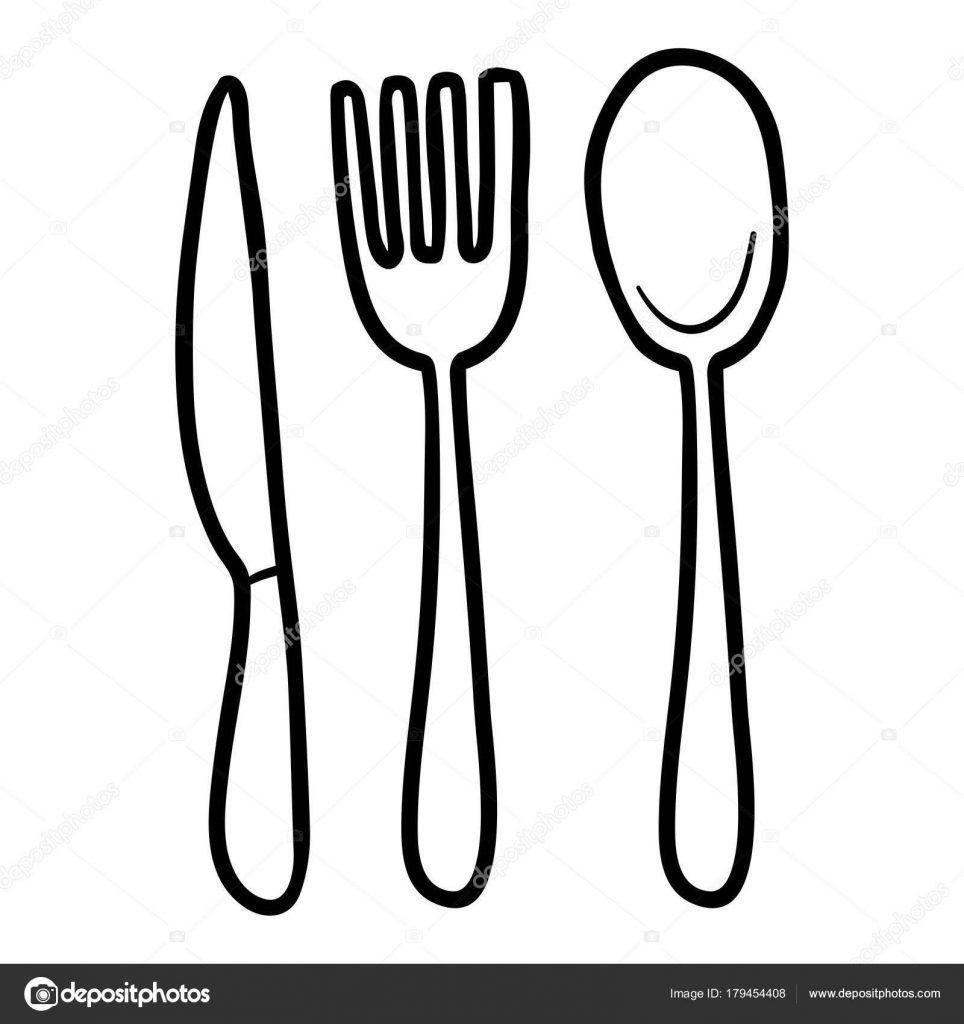 Cubiertos Para Colorear Garden tools, Gardening fork, Color