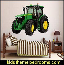 John Deere wall decal murals tractor wall decal murals Tractor